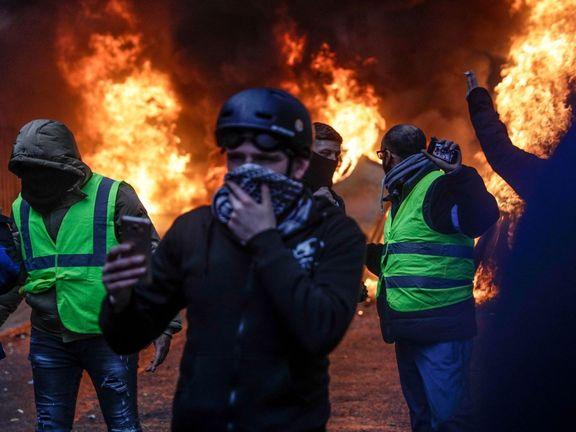 پیامدهای فاجعهبار تظاهرات جلیقه زرده ها بر اقتصاد فرانسه + عکس