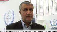اسلامی: آمریکا باید تمام تحریمها را لغو کند تا مذاکرات از سر گرفته شود