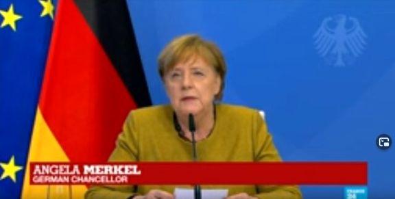 مرکل: باید دستور کار مشترک آمریکا- اروپا با رویکرد چین و روسیه تهیه شود
