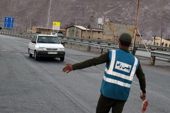 ممانعت ورود 270 خودرو شهرهای قرمز و نارنجی به کرمانشاه در نوروز