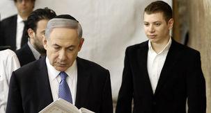 پسر نتانیاهو به یک مجری برنامه تلویزیونی توهین کرد