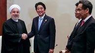 شینزو آبه نخست وزیر ژاپن  وارد تهران شد + فیلم
