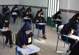 حال و هوای سالنهای امتحانات دبیرستانها در نخستین روز امتحان