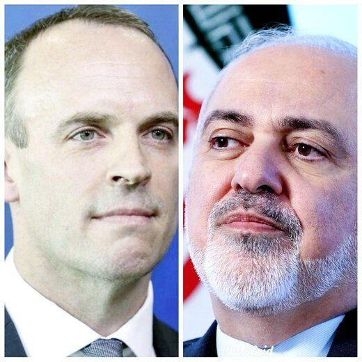 گفتگوی تلفنی ظریف و وزیر خارجه انگلیس درباره برجام