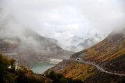 رانش کوه جاده مرزن آباد - چالوس را مسدود کرد