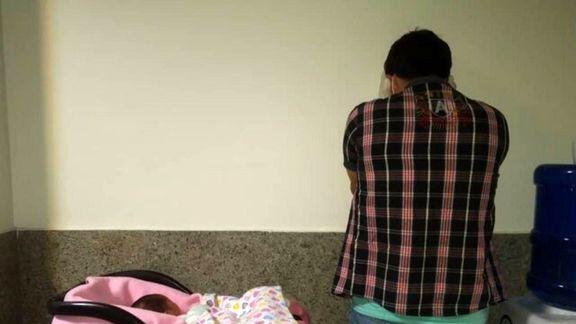 فروشنده نوزاد در فضای مجازی دستگیر شد