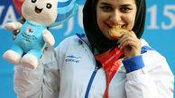 نخستین سهمیه المپیک ایران توسط نجمه خدمتی کسب شد / خدمتی در جایگاه پنجم جهانی تیراندازی با تفنگ بادی ایستاد