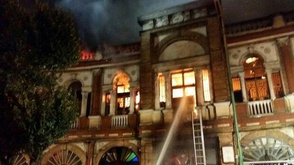 جزئیات کامل آتش سوزی میدان حسن اباد