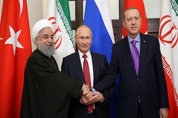 دیدار سه جانبه روسای جمهور ایران، روسیه و ترکیه در اوایل ماه آگوست