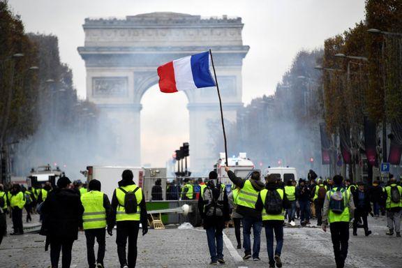 طرح های فرانسه برای مقابله با جلیقه زردها
