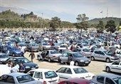 رکود شدید معاملات خودرو در هفته پایانی سال