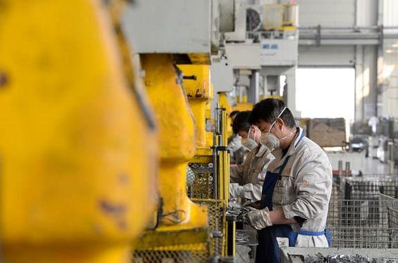 افزایش شاخص خرید مدیران بخش تولید شرکتهای دولتی چین