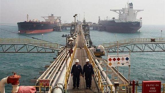 کاهش صادرات نفت ایران علارغم معاف از تحریم برخی کشورها