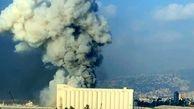 خسارات ناشی از موج شدید انفجار امروز بیروت + فیلم