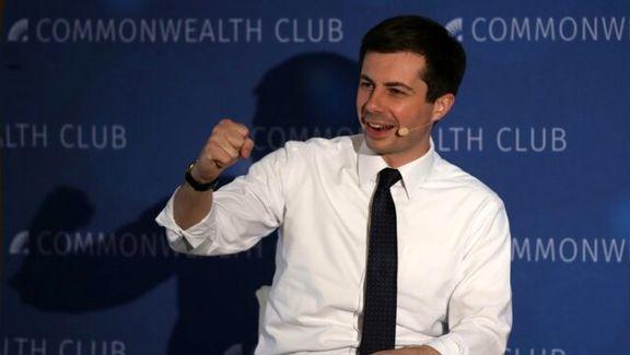 کاندیداتوری بوتیحج به عنوان یک دموکرات همجنسگرا در انتخابات ریاست جمهوری آمریکا