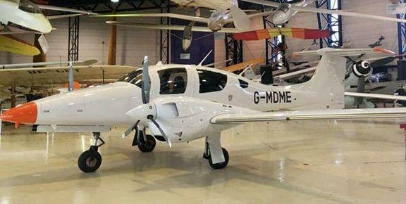 سقوط یک فروند هواپیمای در امارات/ دو نفر کشته شدند