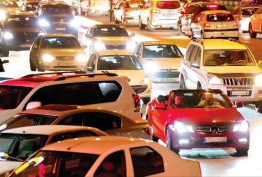 فیلم ترافیک شدید بلوار اندرزگو ساعت 1 بامداد