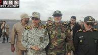 رئیس ستادکل نیروهای مسلح وارد استان گلستان شد