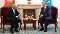 رؤسای جمهور قزاقستان و افغانستان در «بیشکک» با هم دیدار کردند