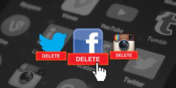روش های غیرفعال کردن حساب شبکه های اجتماعی