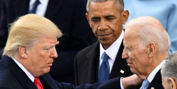 ترامپ با الفاظ رکیک به  بایدن حمله کرد