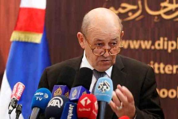 حمایت وزیر خارجه فرانسه از  فروش سلاح به ریاض