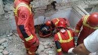 مرگ دلخراش دو کودک بر اثر ریزش دیوار