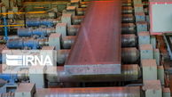 رشد 3 درصدی محصولات فولادی در نیمه نخست سال