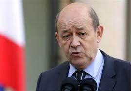 نگرانی های وزیر امور خارجه فرانسه در خصوص حمله سوریه به ادلب