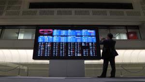 افت بازارهای سهام آسیا بعد از انتشار آمار نرخ تورم در چین