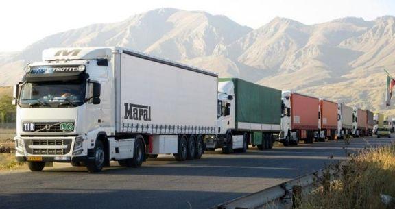 کرایه حمل بار جاده ای بر اساس تن کیلومتر تصویب شد