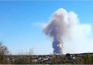 وقوع انفجار در منطقه نظامی روسیه