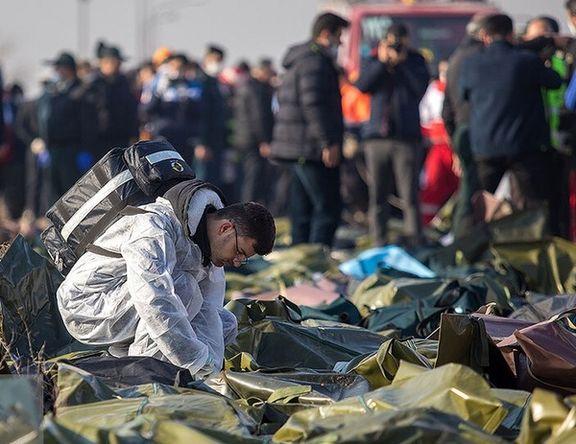 خانواده 142 قربانی حادثه سقوط هواپیمای بوئینگ 737 تست DNA دادند