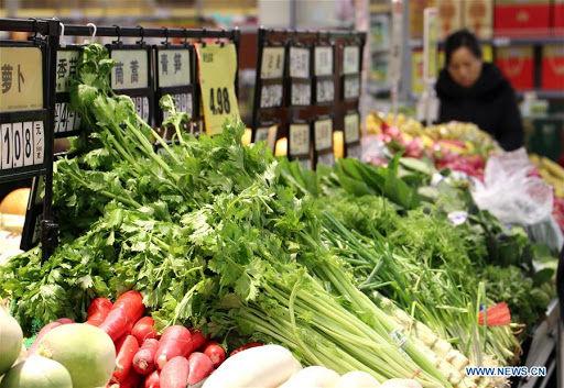 نرخ تورم در چین کاهش یافت
