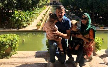 دلتنگی همسر استراماچونی برای ایران