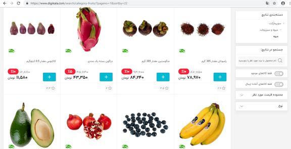 میوه های لاکچری/ واردات میوه های لاکچری مهم تر است یا دارو؟