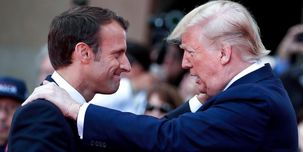 ماکرون:  پاریس و واشنگتن دنبال عقد توافقی «دقیقتر» با ایران هستند
