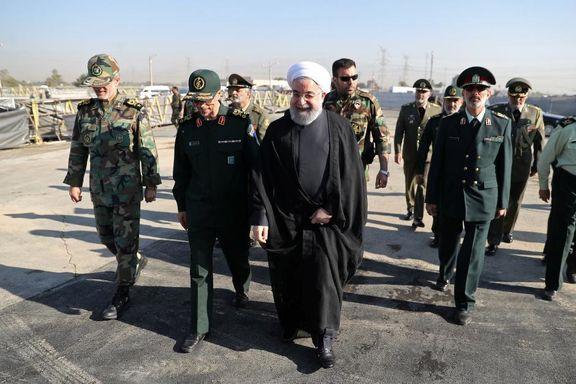 روحانی: ایران توان موشکی خود را ارتقا میدهد