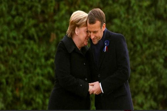 آنگلا مرکل برای شرکت در مراسم روز ملی فرانسه راهی پاریس شد