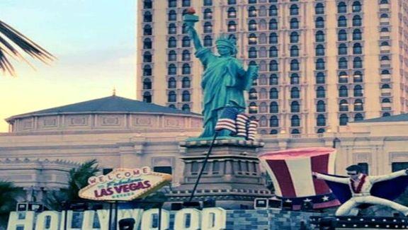 مجسه آزادی آمریکا اما در عربستان