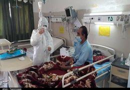 بیماران بستری در تهران برای نخستین بار به بیش از ۸ هزار نفر رسید