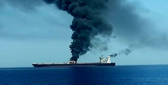 دو نفتکش در دریای عمان محمولههای مرتبط با کشور ژاپن را حمل میکردند