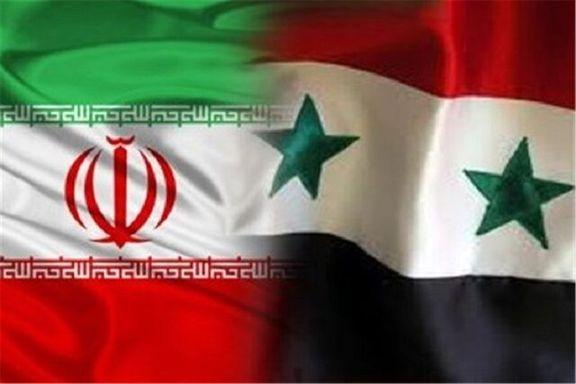 ایران تصمیم دارد صادرات خود به دمشق را یه یک میلیارد دلار برساند
