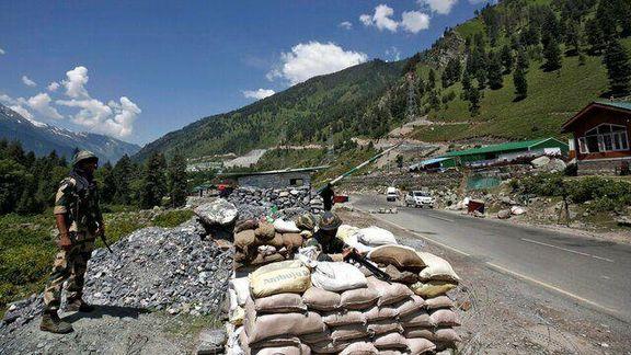 آغاز دوباره تنش نظامی بین هند و پاکستان در مرز کشمیر