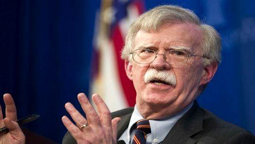بولتون: از وزیر خارجه ایران تشکر می کنم