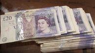 ارزش پوند انگلیس به بالاترین حد خود در دو ماه اخیر رسید