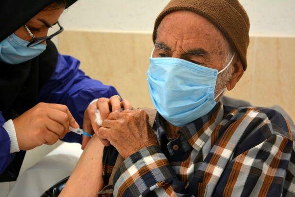 نیمی از جمعیت بالای ۸۰ سال کشور واکسینه شدند