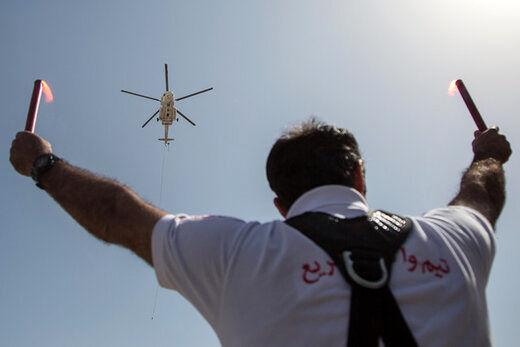 کمبود قطعه 6 بالگرد هوایی هلالاحمر را زمینگیر  کرد