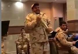 جواب سربازان درباره پخش فیلم  رقص و شادی