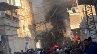 انفجار در نزدیکی کلیسایی در شهر قامشلی سوریه